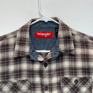 Wrangler Men's Flannel Shirt Multicolor Medium
